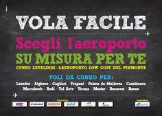 Cliente: Aeroporto Cuneo Nuova adv #adv #brandidentity #playadv #design