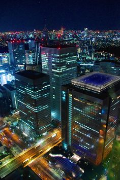 Tokyo at night by Kaz Empson on 500px