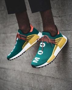 Details about ADIDAS PW HUMAN RACE NMD GREEN SIZE 11 READ