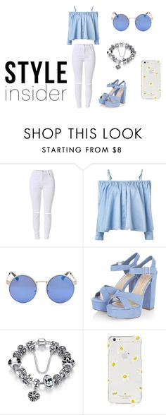 """Style"" by pamela-guzman10 on Polyvore featuring moda, Sandy Liang y Kate Spade"
