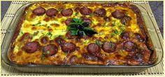 Gluten Free: Lasanha de Berinjela a Bolonhesa