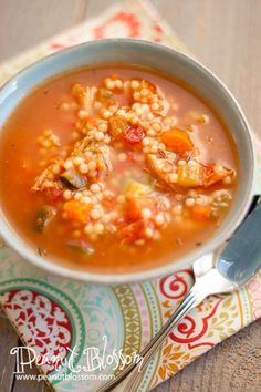 Tuscan Chicken Soup: a knock-off recipe from the Twin Cities' D'Amico & Sons cafe.