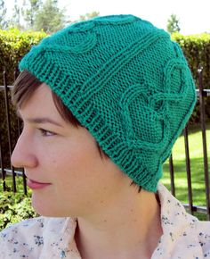 Ravelry: Valentine Cables Hat pattern by Cassie Castillo Quick Knits, The Crown, Cassie, Twine, Ravelry, Knitted Hats, Knitting, Pattern, Fashion