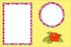 Havaiana - Kit Completo com molduras para convites, rótulos para guloseimas, lembrancinhas e imagens!