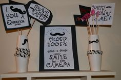 Mustache Bash Birthday Party Photo Booth Props !!!