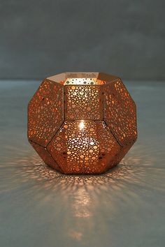 Tom Dixon Bubble-Etched Candleholder | Anthropologie {$80} http://www.anthropologie.com/anthro/product/home-candle/34220897.jsp#/
