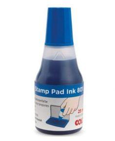 Razítková barva modrá Sauce Bottle, Vodka Bottle, Stamp Pad Ink, Drinks, Drinking, Beverages, Drink, Beverage