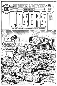 Jack Kirby: The Losers Cover