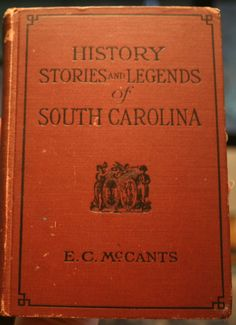 Captain John Thurber (rice) History  of South Carolina 1927