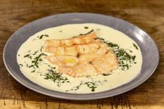 Recipes from James Martin's Saturday Morning on ITV! From simple starters and family meals to great bakes and indulgent desserts you'll always find something exciting to try here! Seafood Dinner, Fish And Seafood, Easy Starters, Great British Chefs, Fish Stock, James Martin, Salmon Fillets, Non Stick Pan, Family Meals