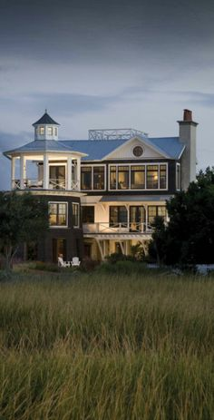Marshland Lookout :: Herlong & Associates :: Coastal Architects, Charleston, South Carolina