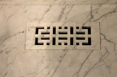 Water jet carved vent- by Marble & Marble Toronto