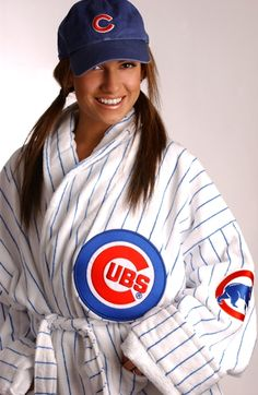Chicago Cubs Authentic Unisex Team Color Robe $179.95 @Chicago Cubs