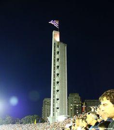 Estadio Centenario Montevideo. Claro ejemplo del art decó. Ver también el estadio de Huracán