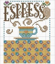 Посудное ... 14 схем для вышивки крестом