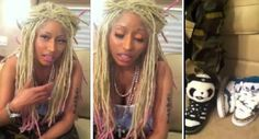 Nicki Minaj Lil Wayne Impersonating