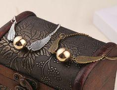 BRANSOLETKA HARRY POTTER Golden Snitch Wings EdiBazzar