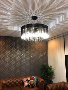 Avenila Modern LED Glass Ball Chandelier