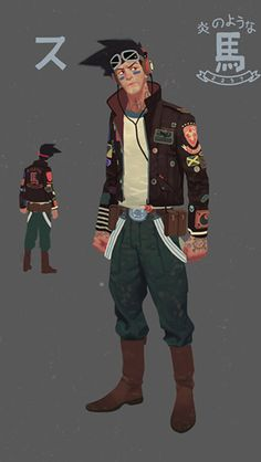 Sunset overdrive character