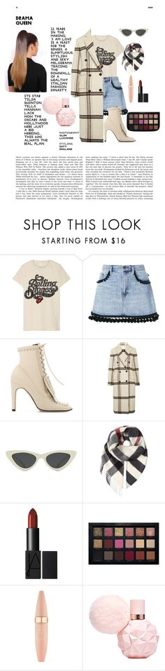 """Untitled #68"" by sara-gonzalez-valerio ❤ liked on Polyvore featuring MadeWorn, Marc Jacobs, Sergio Rossi, By Malene Birger, Le Specs, Burberry and Maybelline"