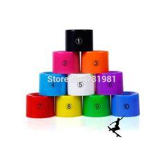 CHI YUAN 1Set(4 pcs) Blank Pro 60 X 45 mm PU Wheels fit 22 Inch Cruiser Board Plstic Skateboard Backpack Longboard Skate board