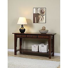 Notes From A Cottage Industry: New Old Entry Table: Hall And Foyer ...