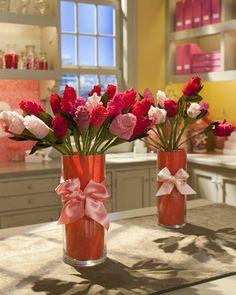 Lingerie Bouquet @Heather VanStaalduinen - good shower gift idea!
