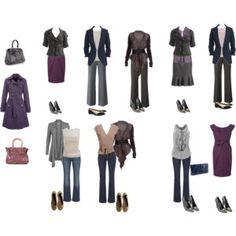 business casual capsules | Capsule Wardrobe