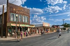 The far west Texas town of Alpine, Texas has thirty art galleries for visitors to explore.