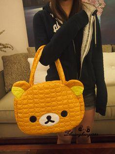 Rilakkuma Relax Bear San-x cute Bag Handbag Shoulder Bag US $24.65..really suit to bring to my kuliah..