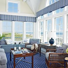 Separate your Space - 10 Creative Ideas for Windows - Coastal Living