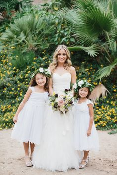 Rancho Las Lomas Wedding Flower Dresses Bouquets Aaron Young Ring