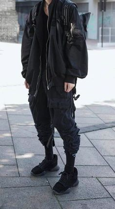 Tomboy Fashion, Dark Fashion, Streetwear Fashion, Grunge Fashion, Winter Fashion, Mens Fashion, Edgy Outfits, Grunge Outfits, Fashion Outfits