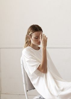Shaina Mote Spring 2014 | All White | Minimal Effortless Beauty | HarperandHarley