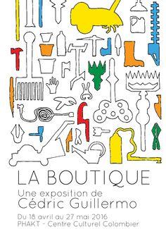 La boutique de Cédric Guillermo au Phakt de Rennes - http://www.unidivers.fr/rennes/la-boutique-de-cedric-guillermo-phakt-rennes/ -  -  Cédric GUILLERMO, centre culturel colombier, la boutique, phakt