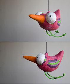 Javiera Donoso Romo: Paper Mache Creations