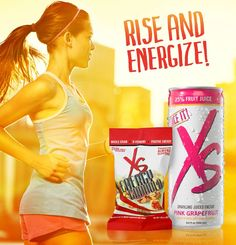 XS has a new positive energy platform this fall: MORNING ENERGY! This isn't just another new flavor. Put some +NRG in your AM to fuel your daily adventures before the grind takes over.    Use new XS Energy Granola Clusters and Pink Grapefruit Juice Blast and then share it to help others achieve their goals too. Life is busy, start your day with your most positive foot forward, new XS Morning Energy !!! WWW.AMWAY.COM - IBO # 5405540