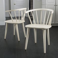 Simple Living Florence Dining Chairs (Set of 2) | Overstock.com Shopping - The Best Deals on Dining Chairs