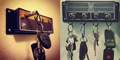 You might not be living life like a rockstar, but at least your keys can. This here is the Jack Rack key hanger from Pluginz. It's made to disguise itself