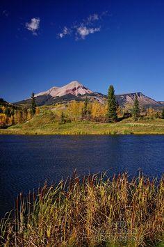 Engineer Mountain, north of Durango, Colorado.