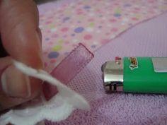 Artesanatos Cris Amaral: Como colocar babadinho em toalhinhas de bebê!