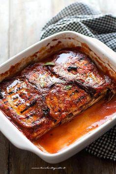 Parmigiana di melanzane grigliate - Ricetta passo passo
