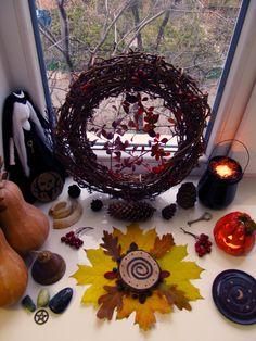 Samhain altar 2017