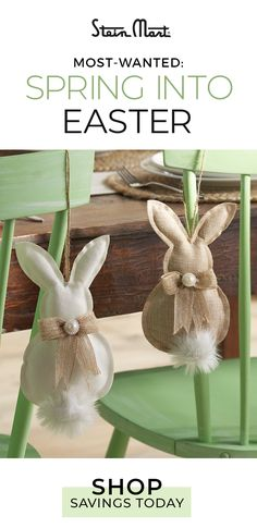 Save every day when you shop at Stein Mart and find your next favorite home décor items for less – tap the Pin and check out the selection. Spring Projects, Easter Projects, Spring Crafts, Holiday Crafts, Easter Art, Hoppy Easter, Easter Crafts, Cute Crafts, Diy And Crafts