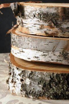 Wedding Cake Stand - White Birch $80