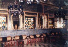 A View of Turkish Room in Sadiq Garh Palace, Dera Nawab - Bahawalpur Yr. 1930-40s