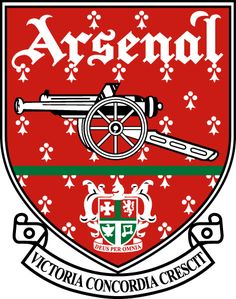 Arsenal FC- The Borough of Woolwich, 1913 (Royal Oak pub) Arsenal Fc, Arsenal Badge, Arsenal Football Club, Football Team Logos, Sports Team Logos, Logo Arsenal, Football Kits, Football Soccer, Arsenal Football