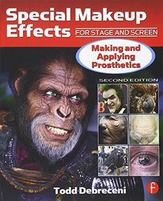 Special Makeup Effects for Stage and Screen: Making and Applying Prosthetics by Todd Debreceni http://smile.amazon.com/dp/024081696X/ref=cm_sw_r_pi_dp_CiDJub03YNH20