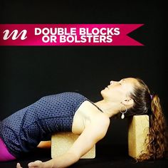 Step 2 in our yogi's guide to #recovering gracefully from getting punched in the face is #restore and renew. So whether your punch in the face was literal or metaphorical this week restore yourself with our 2nd #freevideo of the week: Double Bolsters or Blocks. This #restorative pose helps open the chest if we've been slumped or protective and #soothe the mind and nervous system.   Try it our #free this week only in the MOJO #blog at http://ift.tt/2bS1Yx0 (active link in our bio)…