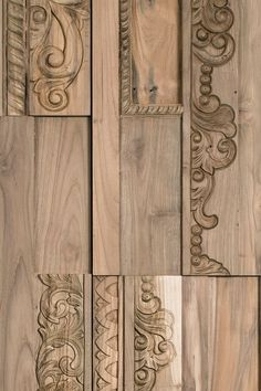 PHOENIX Indoor wooden 3D Wall Cladding by Wonderwall Studios